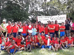 World Challenge Day Suriname Goes Green