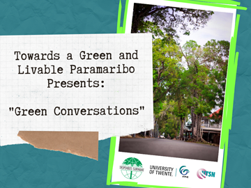 Online sessions about Urban Green